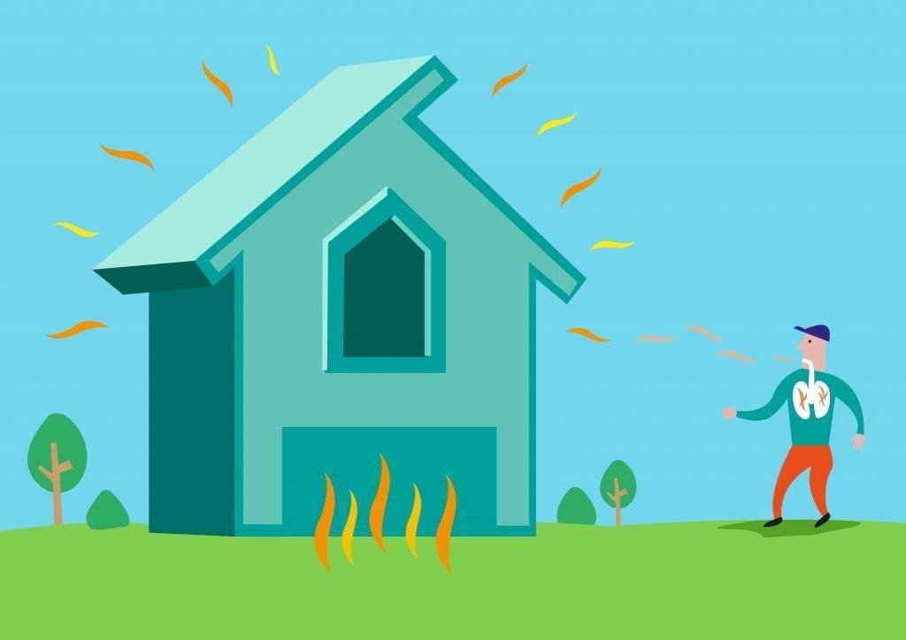 Radon siver ind fra undergrunden og kan over tid forårsage lungekræft.
