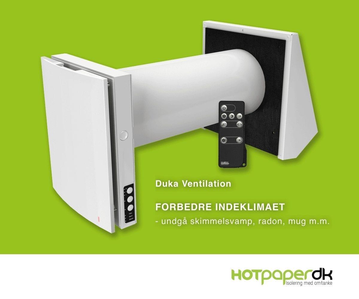 Forbedre Dit Indeklima Med En Komplet Monteret Duka Ventilation Se Her