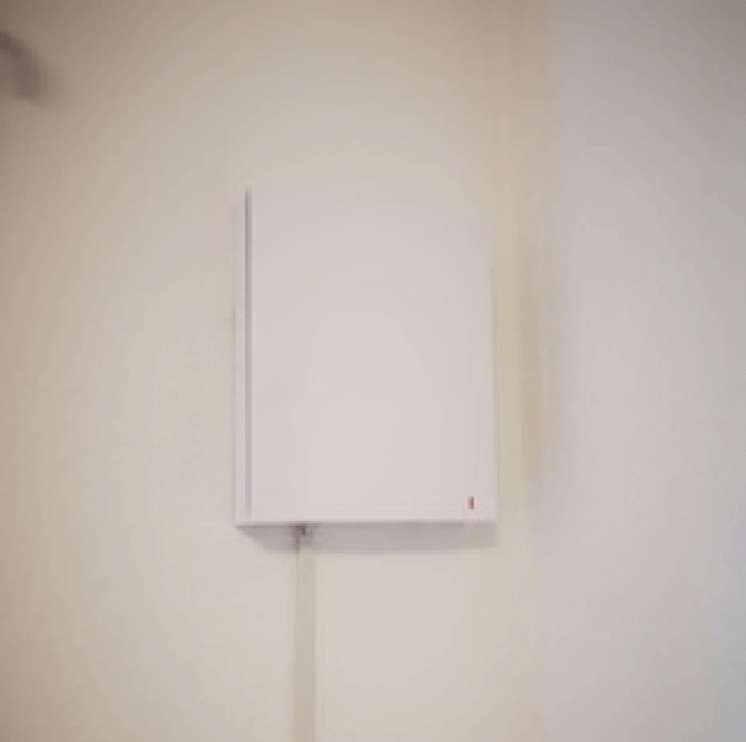 duka ventilation monteret