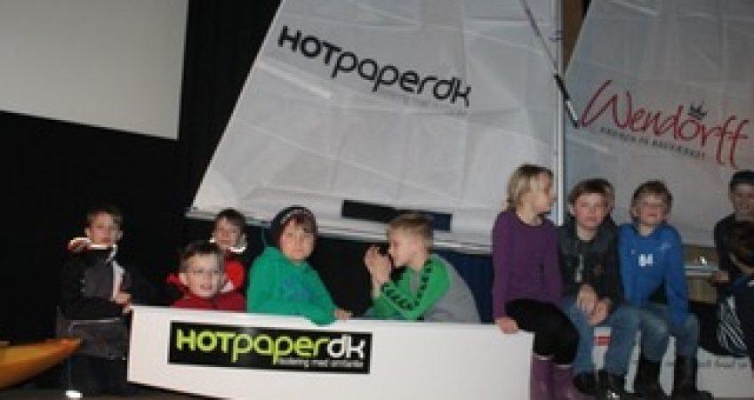 hotpaper facadeisolering støtter faaborg sejlklub